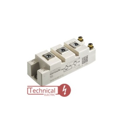 semikron ای جی بی تی دوبل 50 آمپر IGBT سمیکرون SKM50GB12T4 SEMIKRON