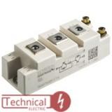 semikron آی جی بی تی دوبل 400 آمپر IGBT SKM400GB12T4 سمیکرون semikron المان