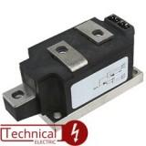 IXYS دوبل تریستور 300 آمپر 1600 ولت IXYS MCC312-16IO1 آی ایکس وای اس