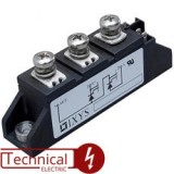 semikron دوبل تریستور سمیکرون 100 آمپر 1600 ولت SEMIKRON SKKT106/16