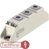 دوبل تریستور سمیکرون 100 آمپر 1600 ولت SEMIKRON SKKT106/16
