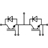 semikron آی جی بی تی دوبل 200 آمپر SKM200GB12T4 IGBT SEMIKRON