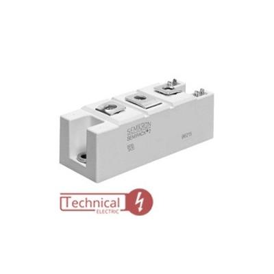 semikron دوبل تریستور 162 آمپر 1600 سمیکرون SEMIKRON SKKT162/16