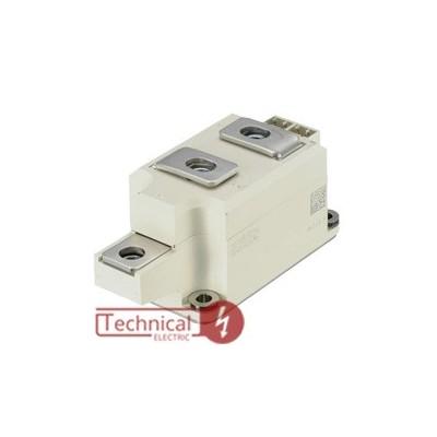 semikron دوبل تریستور 250 آمپر 1600 ولت سمیکرون SEMIKRON SKKT250/16