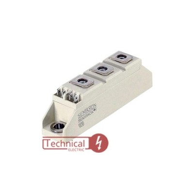 semikron دوبل دیود 46 آمپر 1600 ولت سمیکرون SEMIKRON SKKD46/16
