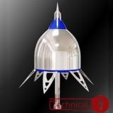 صاعقه گیرهای الکترونیکی TSL مدل SMT-ESE40 AIR TERMINAL