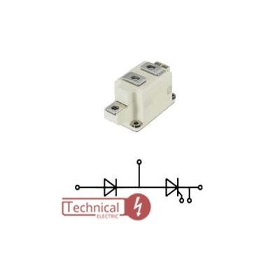 semikron دیود تریستور 570 آمپر 1600 ولت سمیکرون SEMIKRON SKKH570/16