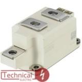 semikron دوبل تریستور 270 آمپر 1600 ولت سمیکرون SEMIKRON SKKT273/16