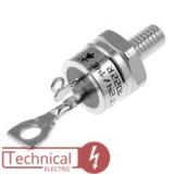 semikron تریستور پیچی 50 آمپر سمیکرون آلمان SEMIKRON SKT50/16