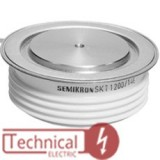 semikron تریستور دیسکی 340 آمپر 1600 ولت آلمان SKT340/16E SEMIKRON