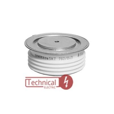 semikron تریستور دیسکی 760 آمپر سمیکرون آلمان SKT760/16 SEMIRKON
