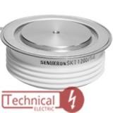 semikron تریستور دیسکی 1200 آمپر سمیکرون آلمان SKT1200/16 SEMIRKON