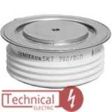 TECHSEM تریستور فست دیسکی 2000 آمپر 2800 ولت Techsem چین Y70KKG