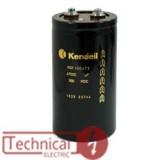 kendeil خازن 2200 میکرو فاراد 250 ولت DC ایتالیا KENDEIL کندیل