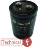 خازن 6800 میکرو فاراد 160 ولت DC ایتالیا KENDEIL کندیل