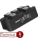 TECHSEM ماژول 3 تایی دیود نعلی 100 آمپر 1200 ولت دیود نعلی MXY100/12 چین