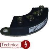 TECHSEM ماژول 3 تایی دیود 50 آمپر 1200 ولت دیود نعلی MXG50/12 چین