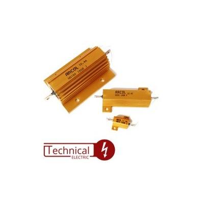 انواع مقاومت 25 وات انگلیس HS25 ARCOL U.K